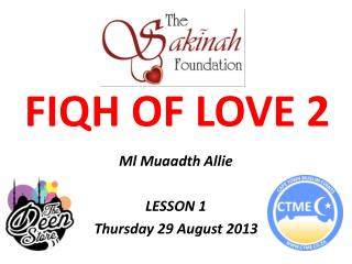 FIQH OF LOVE 2