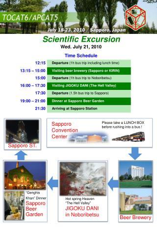 Scientific  Excursion Wed. July 21, 2010