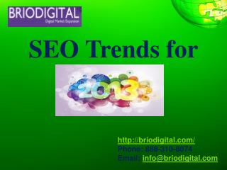 SEO  Trends  for
