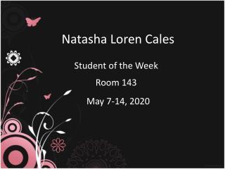 Natasha Loren Cales