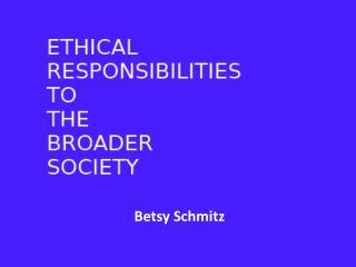 Betsy Schmitz