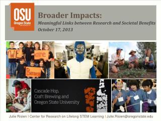 Broader Impacts: