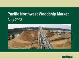 Pacific Northwest Woodchip Market