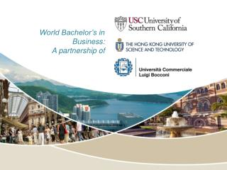 World Bachelor's in Business: A partnership of