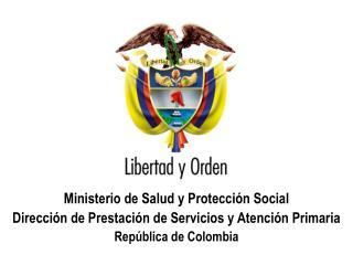 Ministerio de  Salud y Protección  Social