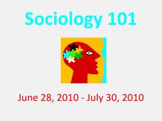 Sociology 101