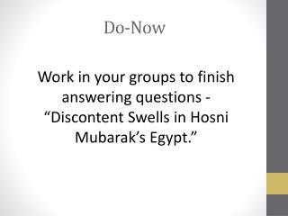 Do-Now
