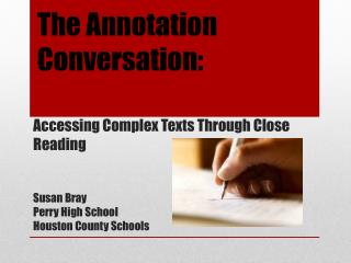 The Annotation  Conversation :