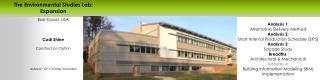 East Coast, USA Codi Shine Construction Option Advisor:  Dr. Chimay Anumba
