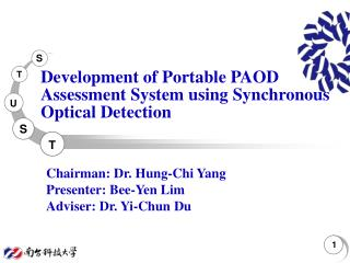 Development of Portable PAOD Assessment System using  Synchronous Optical Detection