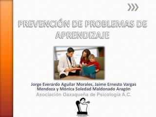 PREVENCIÓN DE PROBLEMAS DE APRENDIZAJE