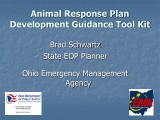 Animal Response Plan Development Guidance Tool Kit