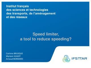 Institut français des sciences et technologies des transports, de l'aménagement et des réseaux