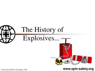 The History of  Explosives...