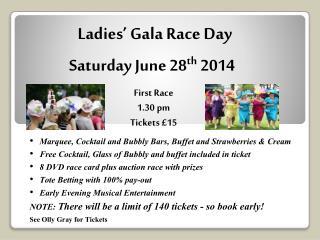 Ladies' Gala Race  Day