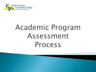 Academic Program Assessment Process