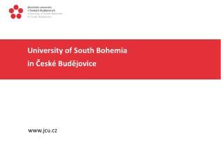 University of South Bohemia   in  České Budějovice