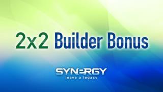 2x2 Builder Bonus Promotion