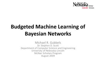 Budgeted Machine Learning of Bayesian Networks
