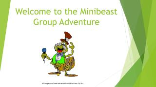 Welcome to the Minibeast Group Adventure