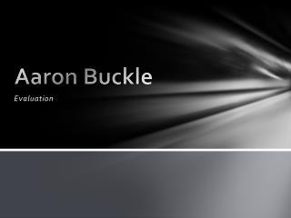Aaron Buckle