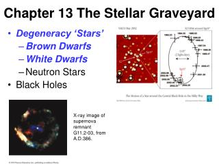 Chapter 13 The Stellar Graveyard