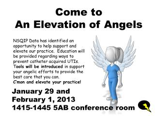 Come to An Elevation of Angels