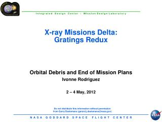 X-ray Missions Delta: Gratings  Redux