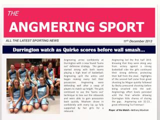 Durrington  watch as Quirke scores before wall smash…