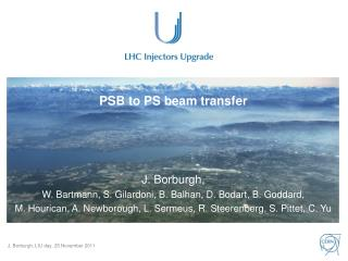 PSB to PS beam transfer