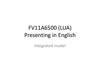 FV11A6500 (LUA)  Presenting  in  English