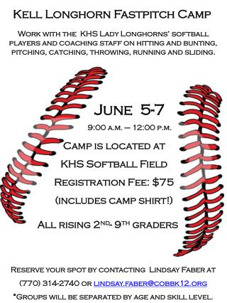 Kell Longhorn Fastpitch Camp