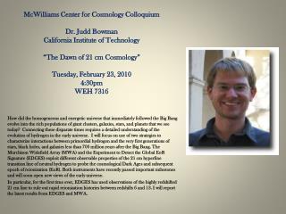 bowman colloquium feb23