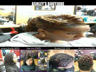 ASHLEY'S  BOUTIQUE