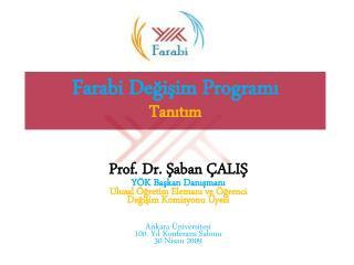 Farabi Değişim Programı Tanıtım