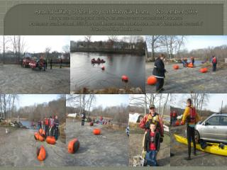 Lifting of the Buoys at Manville Dam