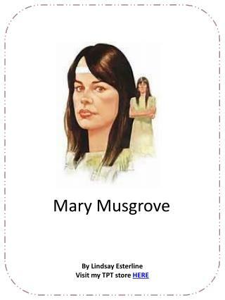 Mary Musgrove