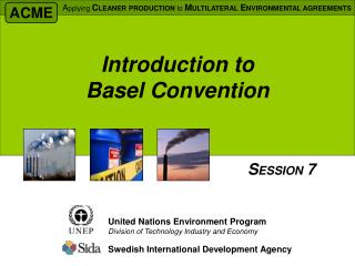 Introduction to Basel Convention