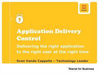 Application Delivery Control