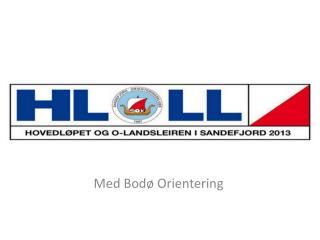 Med Bodø Orientering