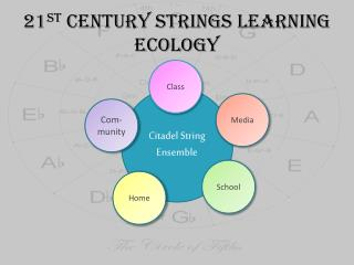 21 st  Century Strings Learning Ecology