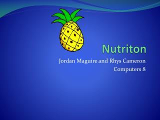 Nutriton