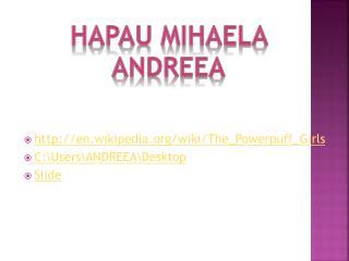 Hapau Mihaela Andreea