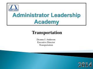 Administrator Leadership Academy