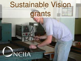 Sustainable Vision grants