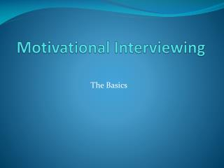 Clinical Interviewing Skills