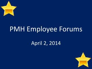 PMH  Employee Forums