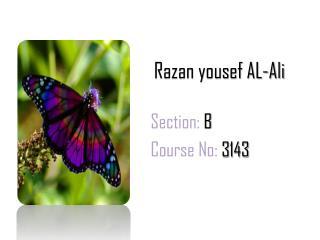 Razan yousef AL-Ali