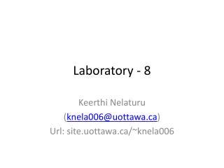 Laboratory - 8