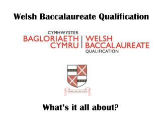 Welsh Baccalaureate Qualification